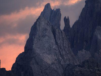 Montagne déchiquetée